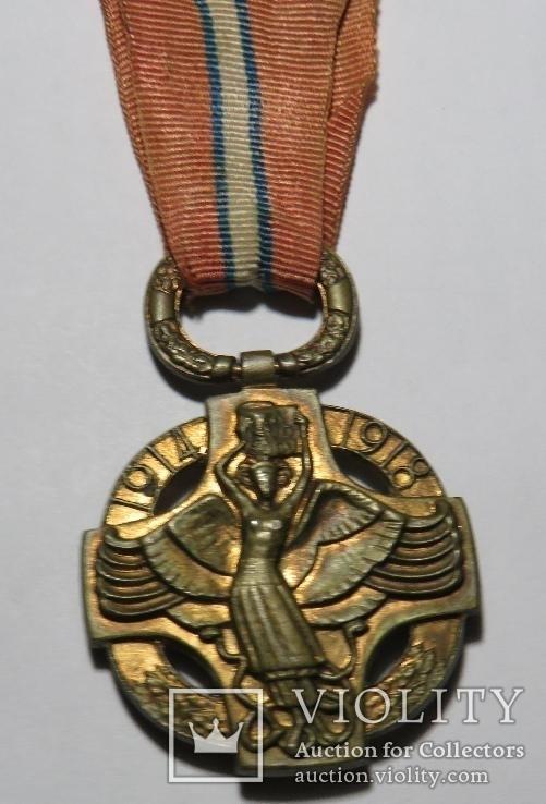 Чехословацкая революционная медаль, 1918 года., фото №4