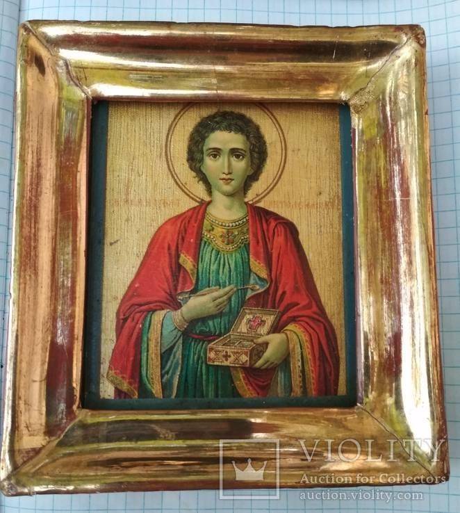 Св.Пантелеймон.Благославление св.Афонской горы,Пантелеймонова монастыря,где и она освящена, фото №7