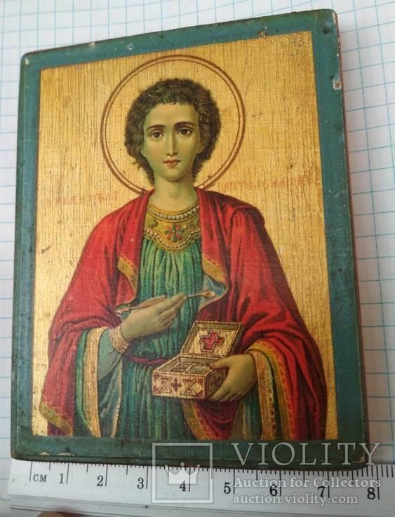 Св.Пантелеймон.Благославление св.Афонской горы,Пантелеймонова монастыря,где и она освящена, фото №10