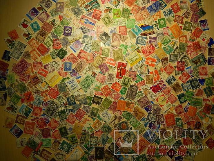 Интересный лот марок. 500 шт.