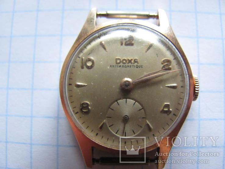 Часы золотые Doxa. (женские)