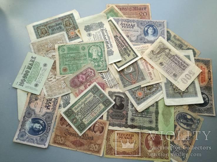 36 Банкнот до 1945 года.