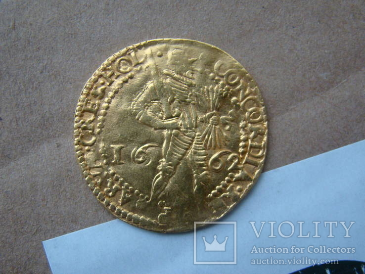 2 дуката 1662 год Холанд