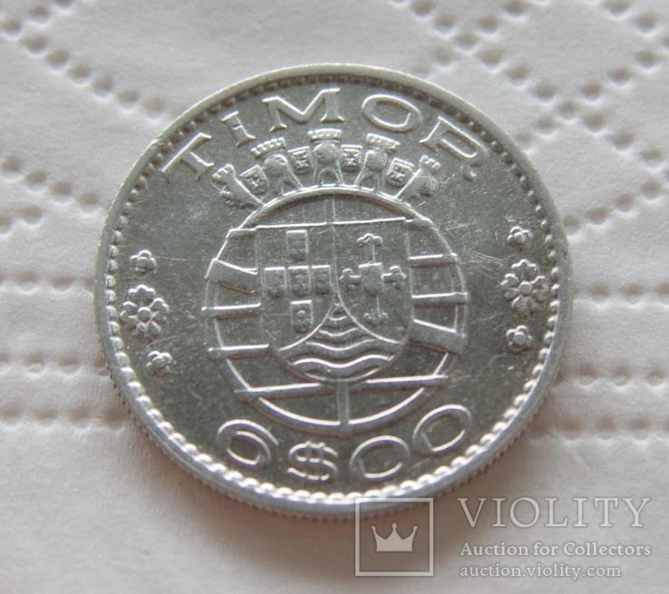 Португальский Тимор 6 эскудо 1958