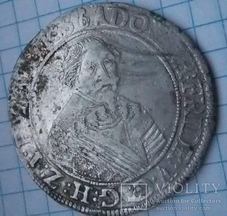 Адольф Фридрих.Талер 1639 года