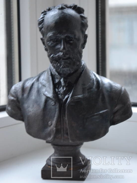 Чайковский 1957 год. Авторская работа.