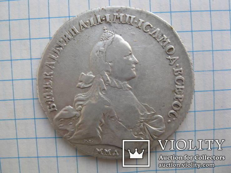 Рубль 1764 ммд.