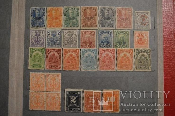 Гаити 1887-1899гг
