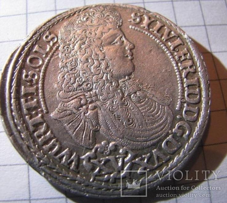 15 Крейцеров 1675г. Вюртемберг-Ойлс