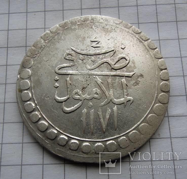 Куруш Османская империя после 1171 г.х.  (18.6 грамма)