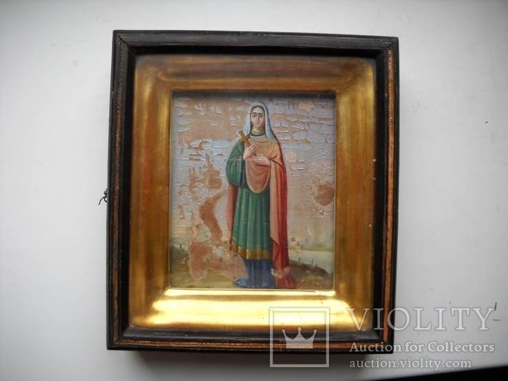 Образ Святой Галины в киоте