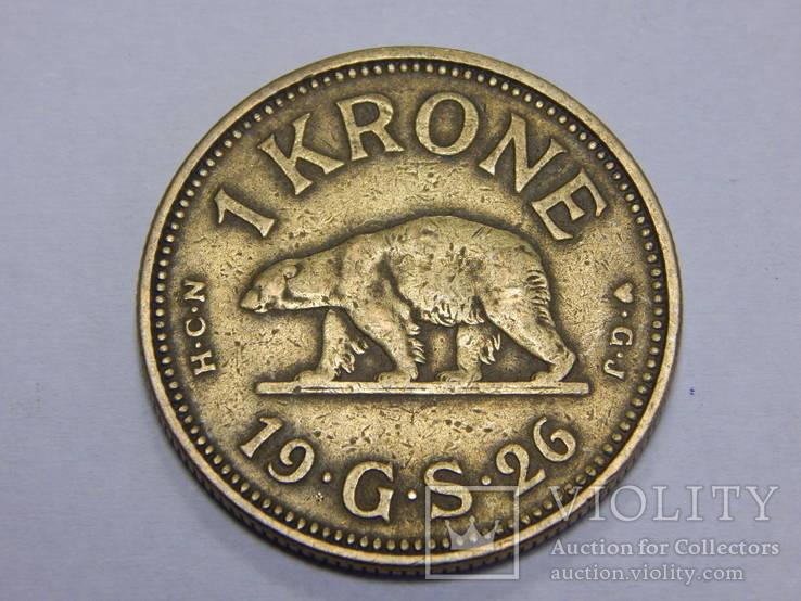 1 крона, 1926 г Гринландия