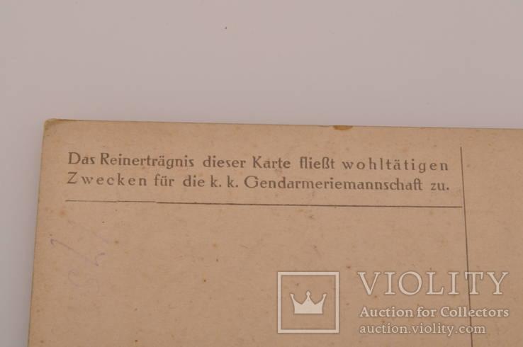 Открытка Жандармерия 1917 год Швеции., фото №9