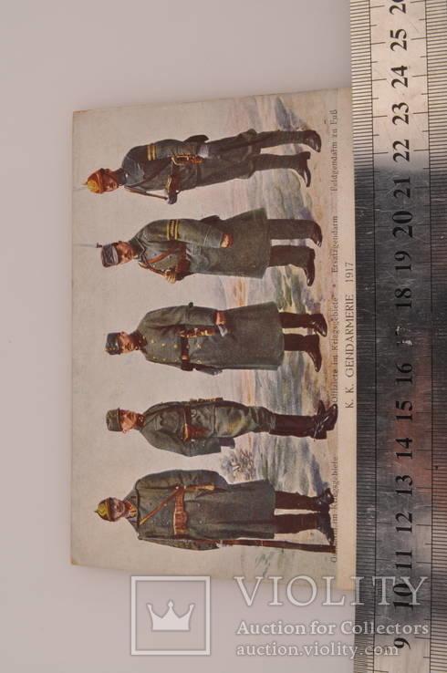 Открытка Жандармерия 1917 год Швеции., фото №10