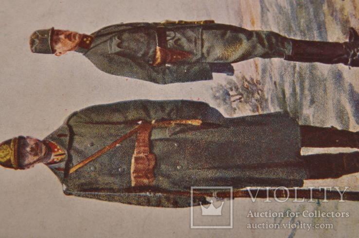 Открытка Жандармерия 1917 год Швеции., фото №12