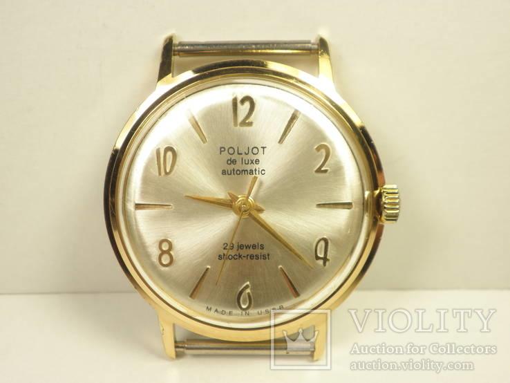 """Часы """"Poljot de luxе"""" позолота АУ20 (3)"""