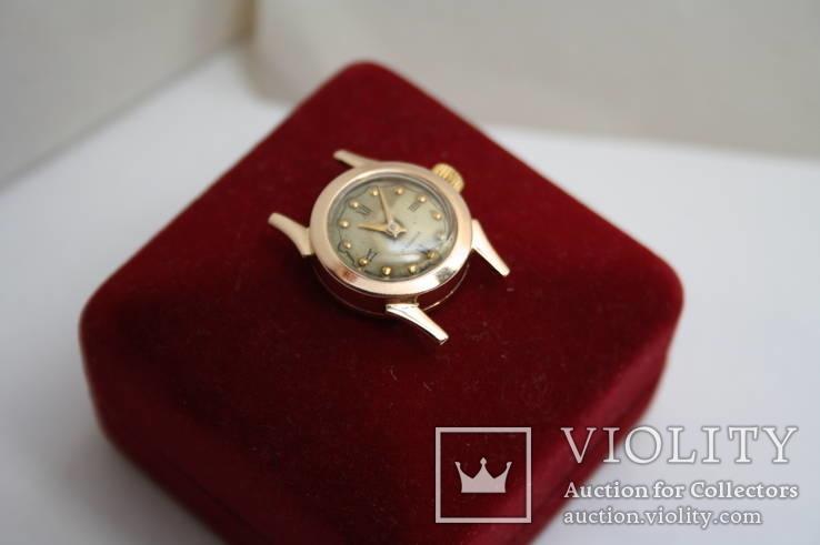 Золотые женские наручные часы, фото №4
