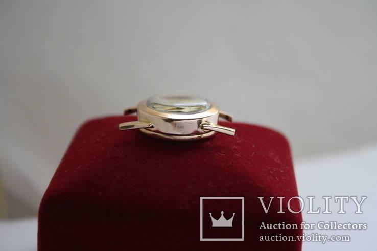 Золотые женские наручные часы, фото №5
