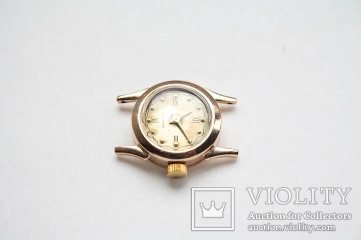 Золотые женские наручные часы, фото №8