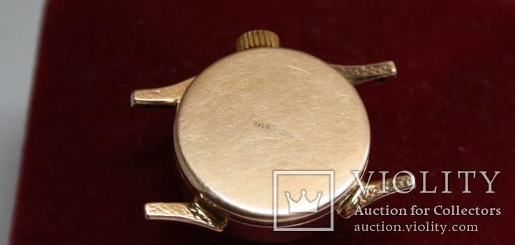 Золотые женские наручные часы, фото №9