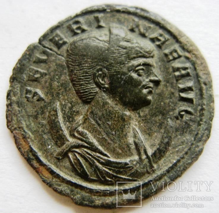 Антониан, SEVERINA (274 г.н.э.) - жена Аврелиана