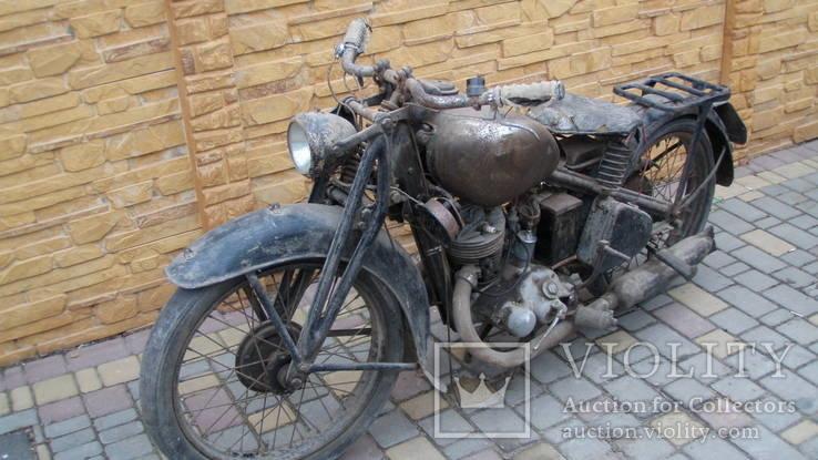 Ретро мотоцикл DKW 125,1935 г.