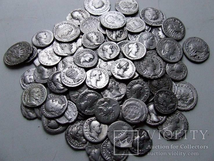 Коллекция Римских монет - 100 шт.
