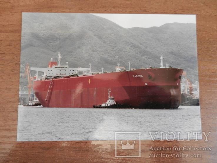 Открытка пароход танкер Macoma, фото №2