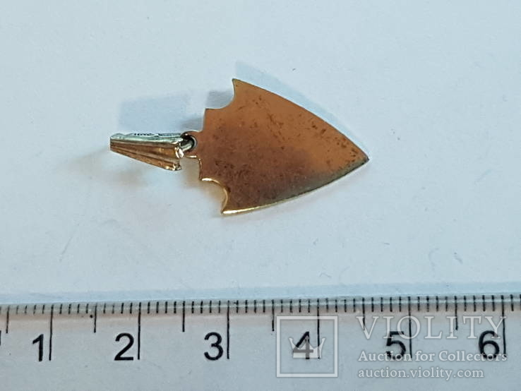 Кулон Серебро 875 прба СССР, фото №5