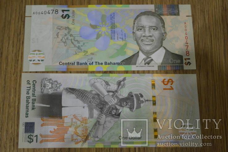 Багамы / Bahamas 1 dollar 2017 Pick NEW UNC