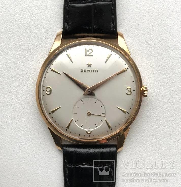 Золотые часы Zenith 18K