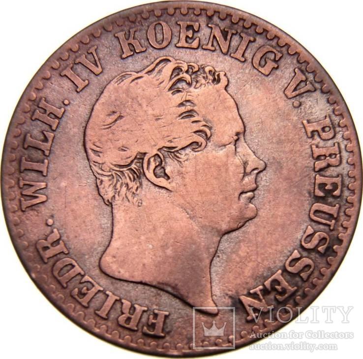 Пруссия 2/5 грош 1842 года