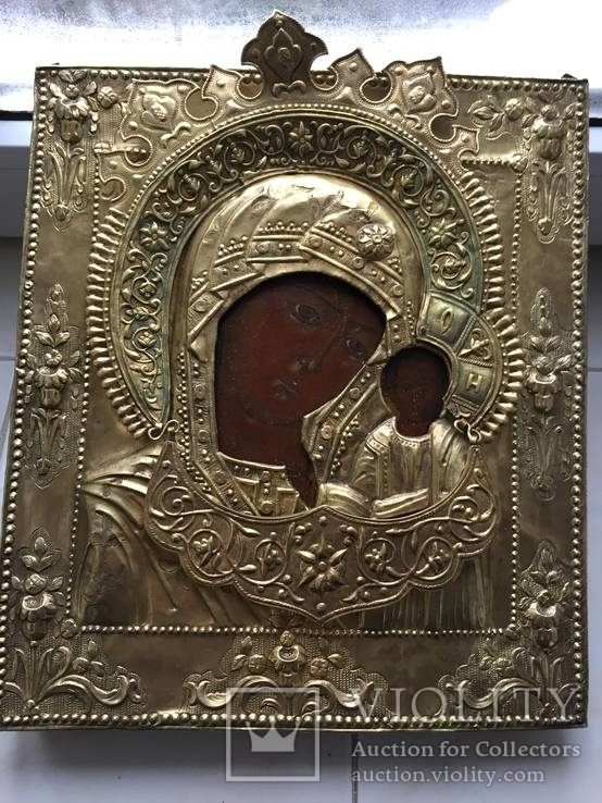 Икона Божьей Матери Казанской. 1800 год, Ярославль.