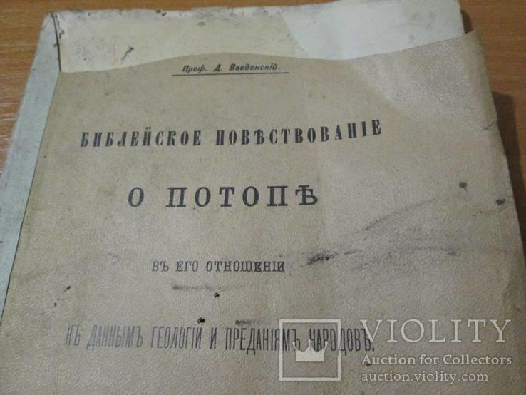 Библейское повествование о потопе.1910 год ., фото №5
