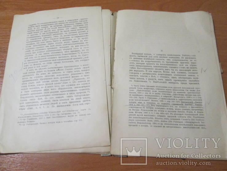 Библейское повествование о потопе.1910 год ., фото №9