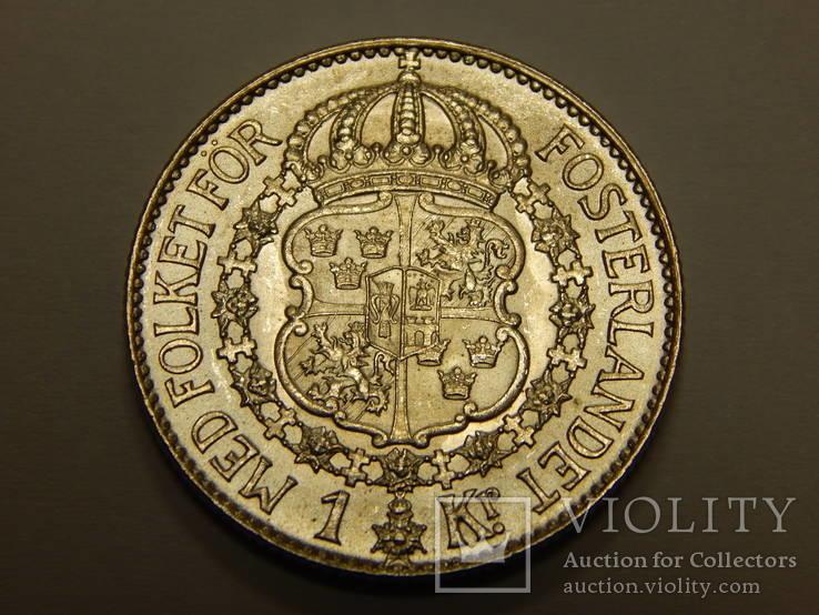 1 крона, 1936 г Швеция
