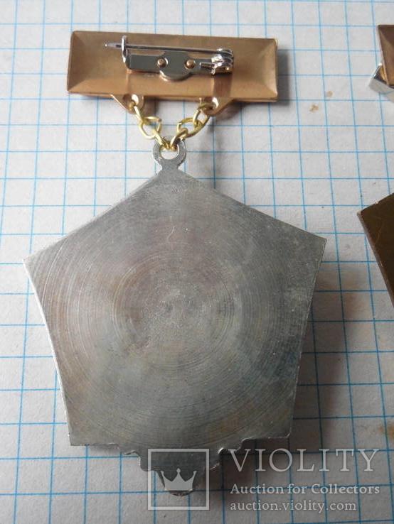 Медаль Шахтерская слава 2 и 3 степень Украина, фото №11