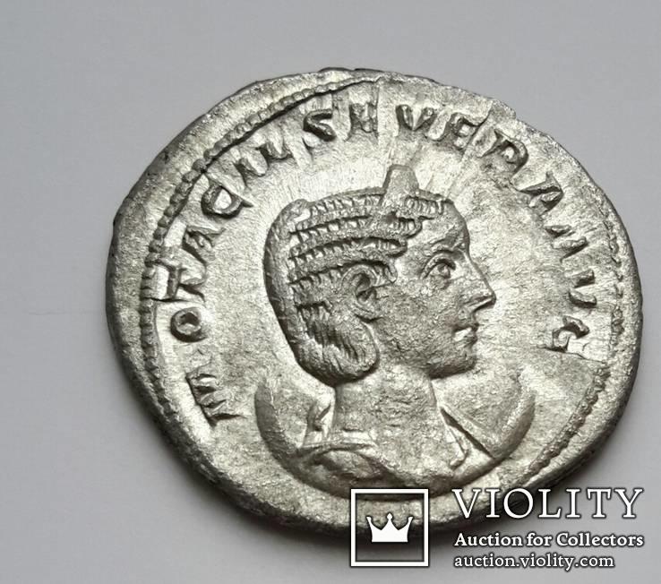 Antoninian. 244 - 245 MARCIA OTACIL SEVERA AVG -22 mm. 3.32 gr.