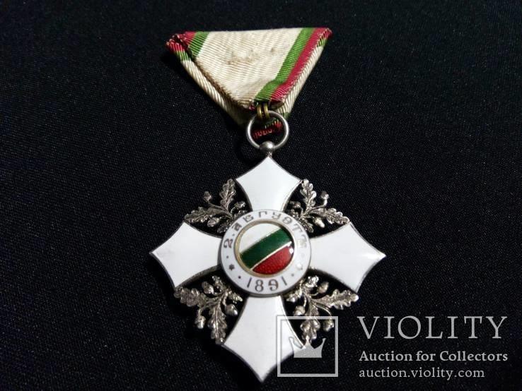 Орден За Гражданские Заслуги Болгария., фото №2