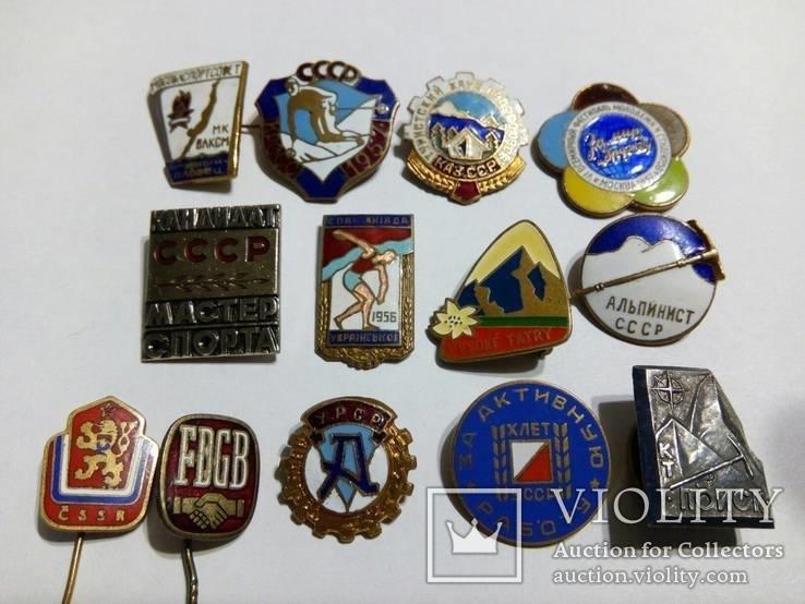 Тяжёлые значки на эмалях., фото №2