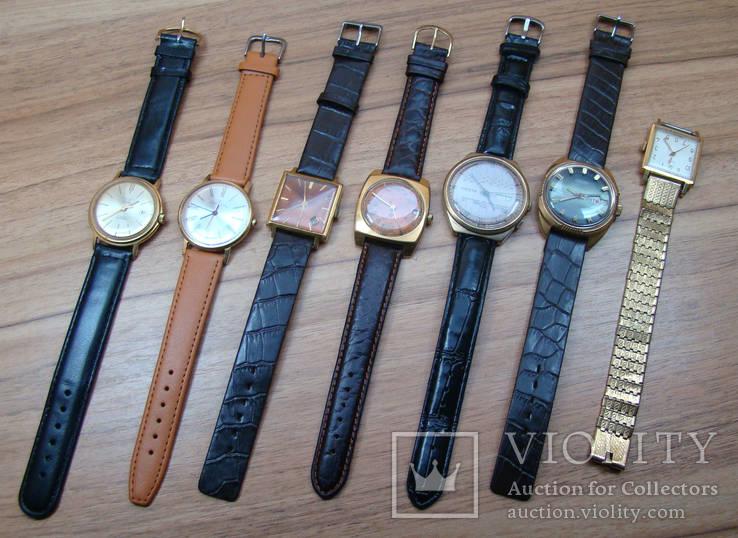 Коллекция часов позолота.ссср