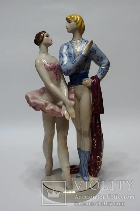 Дуэт (Ромео и Джульетта). Киев. Автор В.И.Щербина