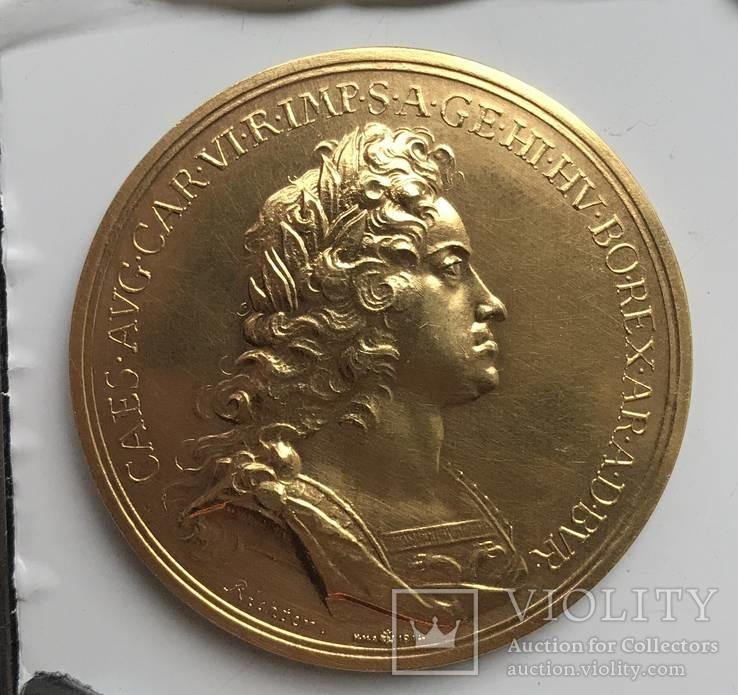 Золотая медаль Австрия