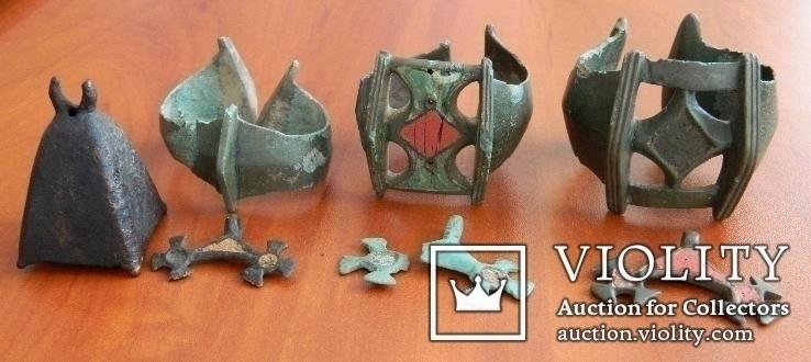 Комплекс браслетов КК + бонус (3 браслете, 3 лунницы + колокольчик)