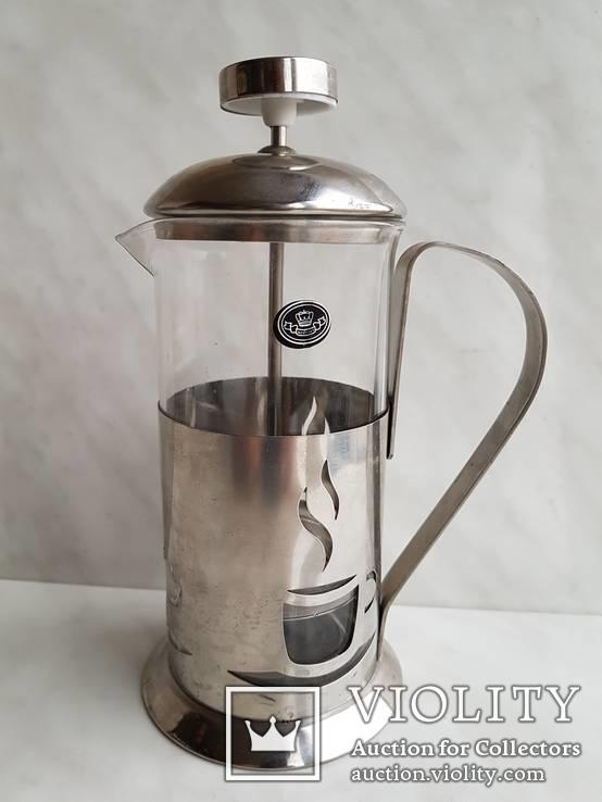 Френч-пресс для заварки чая. Не пользованный., фото №4