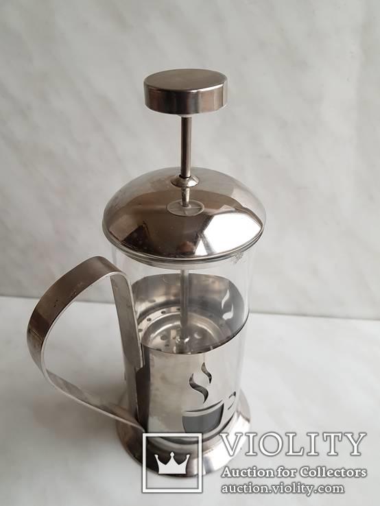 Френч-пресс для заварки чая. Не пользованный., фото №7