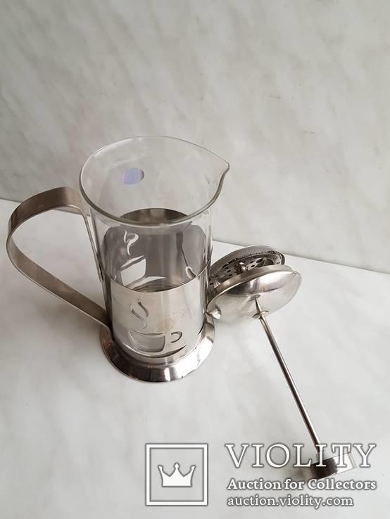 Френч-пресс для заварки чая. Не пользованный., фото №8