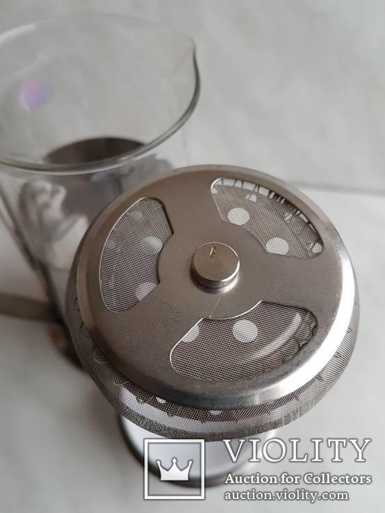 Френч-пресс для заварки чая. Не пользованный., фото №11