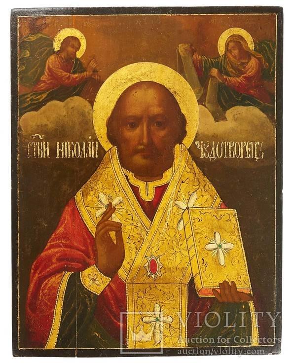 Икона Святого Николая (33*26*2 см.)