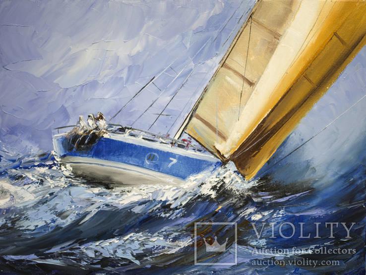 Картина 30х40см На хвилі  Кульчицька Світлана